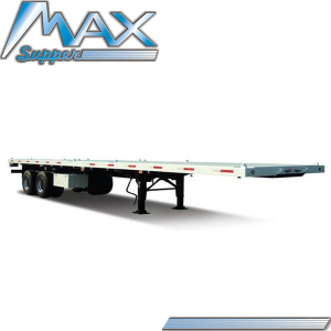 13M Platform Container Transport Towing Truck Semi Trailer Model SM073