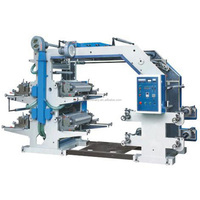 4 Color BOPP Film Roll Flexo Printing Machine