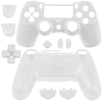 Hot White Shell Full Housing Replacement for Playstation 4 PS4 Dualshock 4 Controller