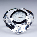 High quality digital desk world time clock wedding favor cyrstal clock