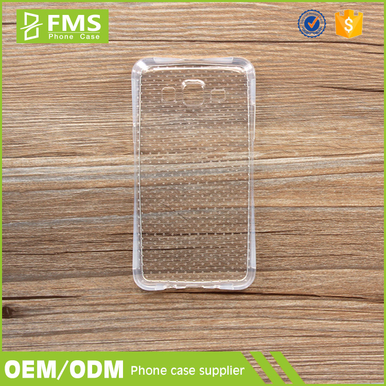 Custom Printing Soft Transparent Bumper Case Cover For Samsung Galaxy V Plus