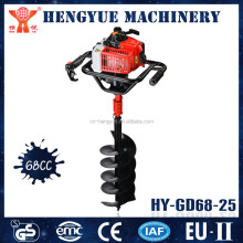 HY-GD68-25 high quality earth auger drill tree planting earth auger