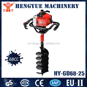 HY-GD680-XK-805 high quality earth auger drill tree planting earth auger