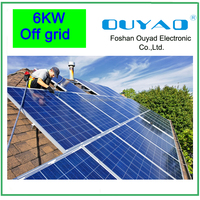 China Manufacturer 6kw solar kits/ solar generators/complete solar home system