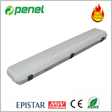 2016 New Hot Sales dimmable emergency products for Lifud Epistar 1.2m 48W with frosted or clear cover LED Triproof Light