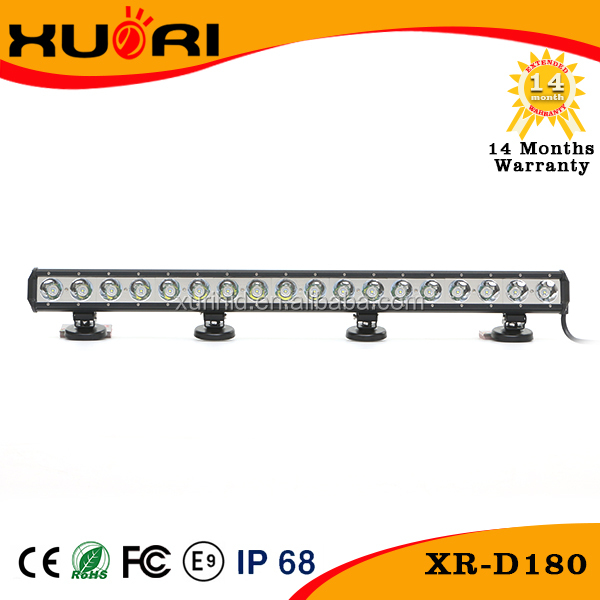 Direct Sale 180w led light bar for car off road truck 4x4 SUV UTE