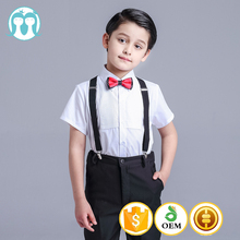 fashion kids wedding suits formal Blue made to measure suits for boys
