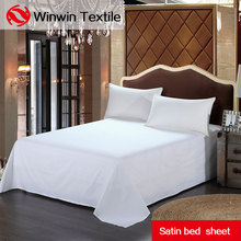 Wholesale pure cotton hotel bed sheet bed cover bedsheets