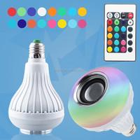 House Speakers Bluetooth Speaker LED Bulbs with APP Control Light and Music Sleep Mode RGB Light