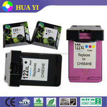 Hot selling printer ink cartridge for hp original ink cartridge 122 122xl for hp deskjet 1000 1050 2000 2050