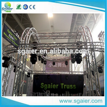 2016 backdrop truss system,ceiling lighting truss system, truss exhibition booth