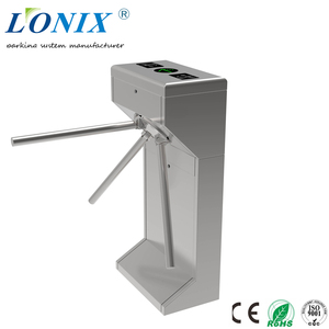 S.S Automatic Factory Turnstile Barrier Gate