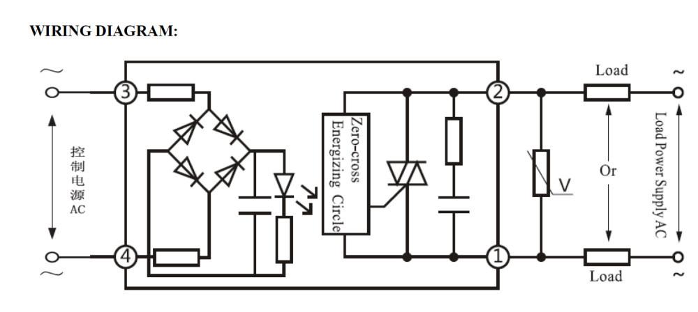 einphasig s  s  r  hhg2- 1  relais  ssr