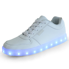 Adult led shoes sneaker for festival