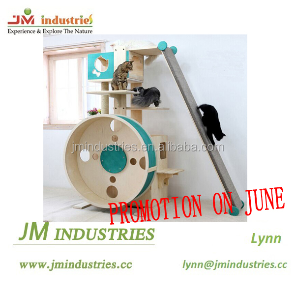 Big discount from JMI for high grade wholesale cat furniture cat condo