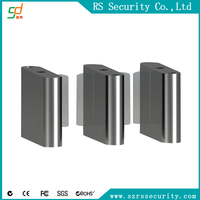 Hot seller Fast Speed Gate Half height prestige security bidirectional flap barrier gate