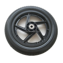 12 inch small dog trailer wheel with axle