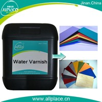 wholesale Water-based ultrasonic wave plastic adhesive varnish for plastic product