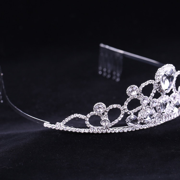 XULIN Exquisite Elegant Rhinestone <strong>Crowns</strong> Hair Accessories Wedding Tiara Bridal <strong>Crown</strong>