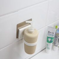 SQ 5071 magic flexible sticker wall mount hand liquid soap dispenser