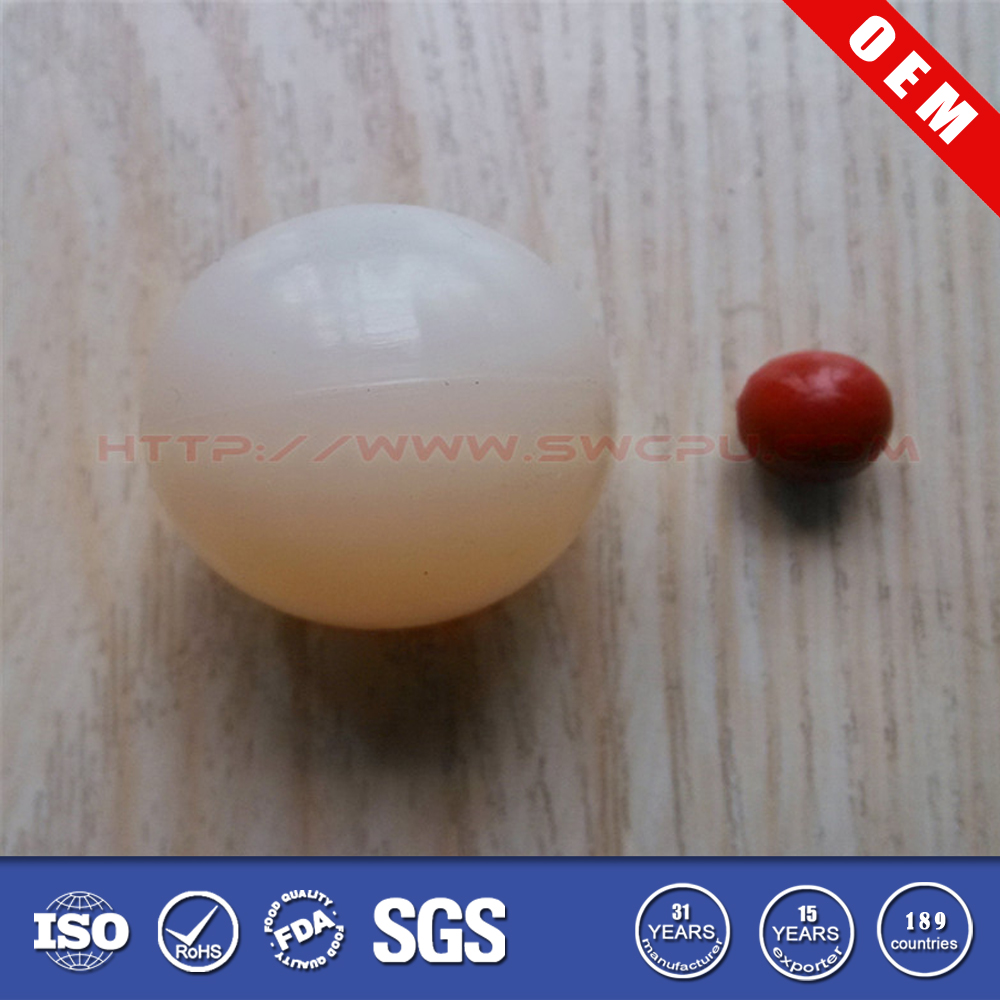 Best quality customized dimple rubber ball