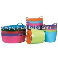 Flexible PE buckets,plastic water barrel,bath tub for kids,REACH,FlexBag