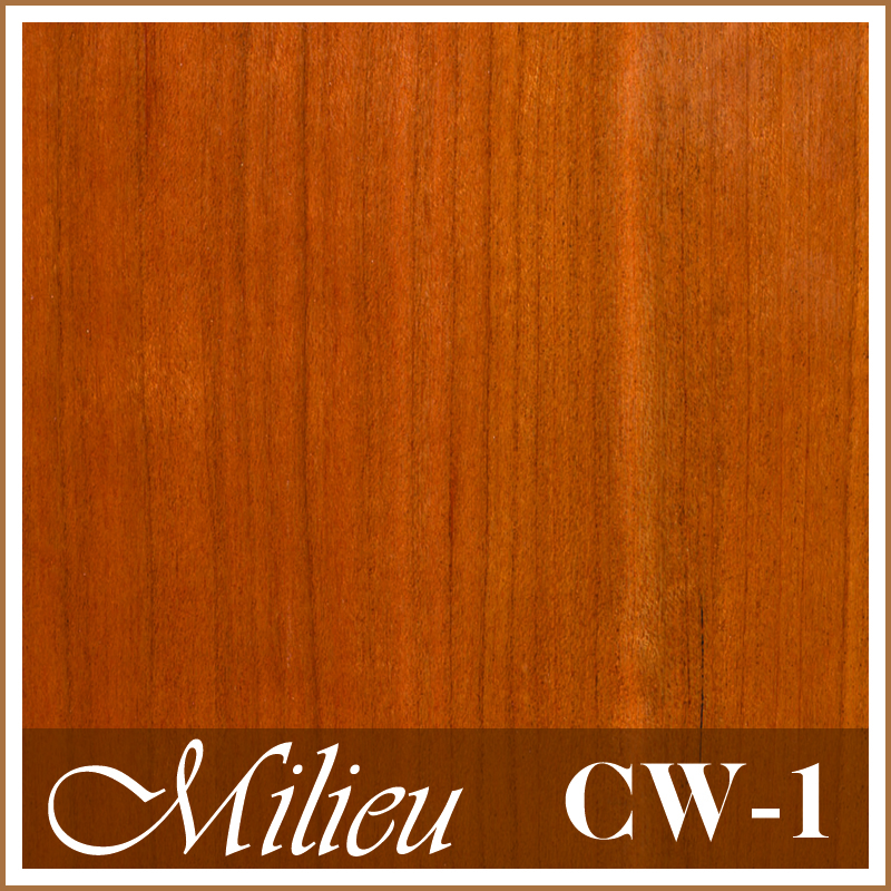 Cherry Wood (CW-1) - Plank engineered flooring 3.5mm top layer UV Laquer coat wood timber