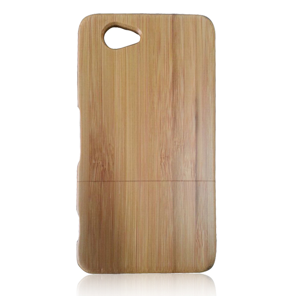 Wholesale cell phone case for Sony, mobile phone shell, wooden case for Sony Z1 compact mini