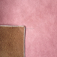In STOCK Soft-hand Bronzed Suede Sofa fabric with Three-layers lamination for sofa
