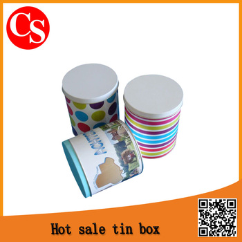 gift tin can from tin products manufacturer in DongGuan China