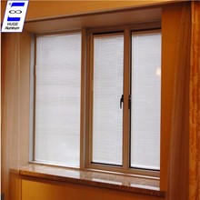 2017 new desig aluminum glass window blind inside double glass window for sale