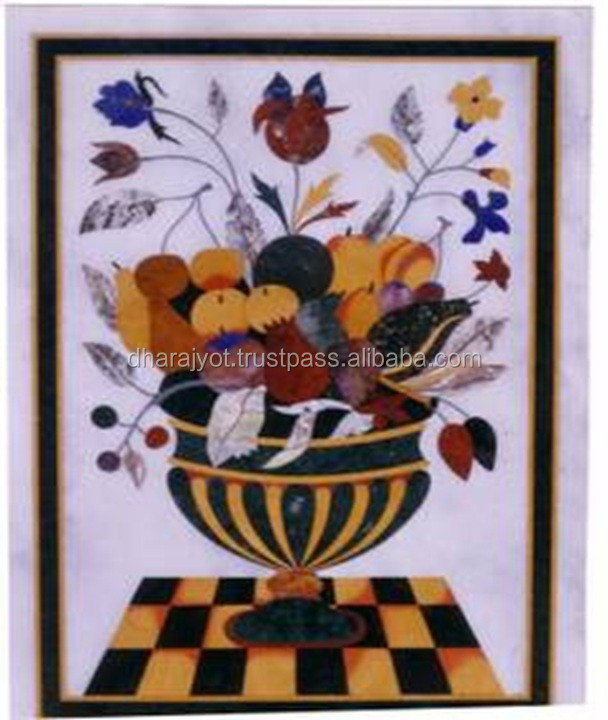 inlay decor fruit bowl