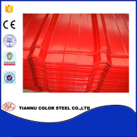 Top2/Back1 qualified color coated sheet/corrugated sheet for roofing materials/prepainted galvanized steel sheet