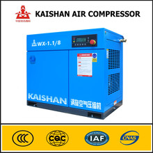 Competitive price oil free 7.5KW 1.1m3/min 8bar electric ac scroll compressor