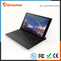 TF card port and earphone port built-in smart rugged tablet pc with docking keyboard