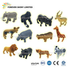 Bulk Capsules Small Miniature Toys Collectible Plastic Wild Animals Zoo Figurine for Vending Machines