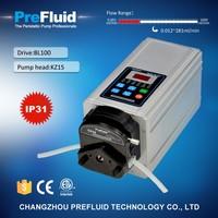 Prefluid BL100 Flow Rate Display Pump, chemical dosing pump working principle