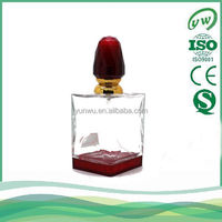 Muslim design glass bottle for perfume packing wholesale