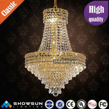 zhongshan factory sale contemporary crystal pendant lighting
