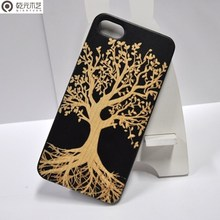 alibaba germany OEM/ODM custom wood phone case engraved handy cover