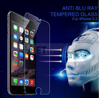 New design Anti Blue Ray Privacy Tempered Glass Screen Protector Film for iPhone 6 6s