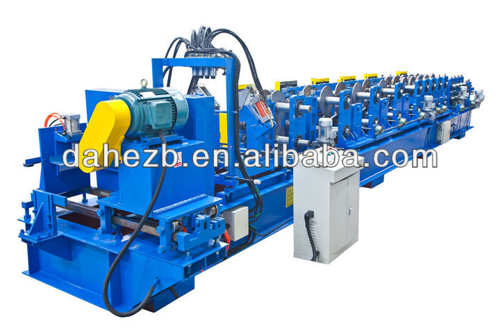 New design Z production line purlin forming machine