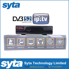 SYTA 2016 cool OSD design DVB-S2 HOME DIGITAL TV BOX/New arabic IPTV One key pressed Dual core S1022IPS2