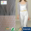 knit lace fabric for garment luxury soie spandex satin for shawl