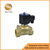 direct acting electromagnetic valve 24v gas brass solenoid valve for sale