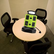 Table Mounted Extension Socket with Switches and LED Light Indicator