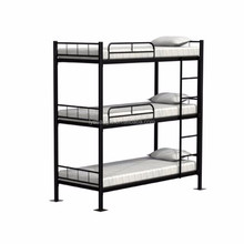 Cheap metal adult 3 tier triple bunk beds sale for adults