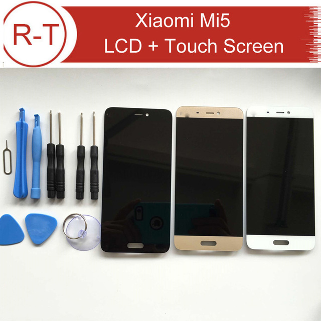Lcd screen for Xiaomi Mi5 100% New LCD display + Touch Panel Replacement for Xiaomi mi 5 Prime / Pro 5.15inch