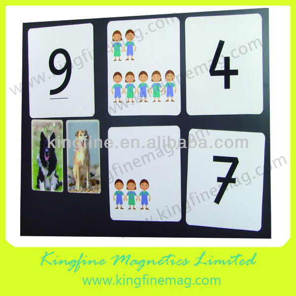 Educational magnetic letters and numbers for children