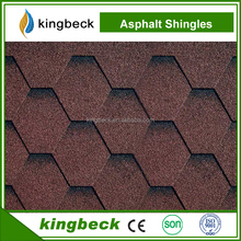 Good quality coloful fiberglass asphalt shingle sheets asphalt roofing